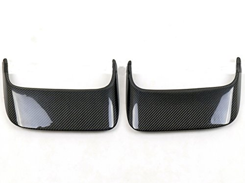 (Eppar New Carbon Fiber Rear Bumper Scoops 2PCS for PORSCHE 911 997 2005-2011)