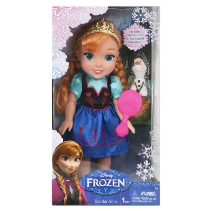 Good Looking Frozen Toddler Doll  Anna