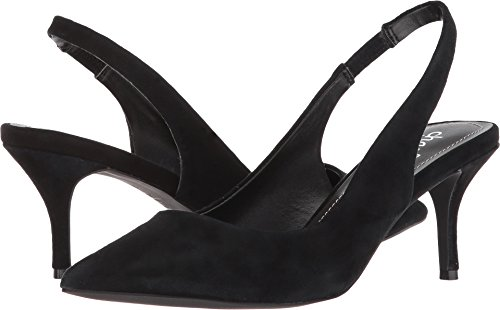 (CHARLES BY CHARLES DAVID Women's Amy Slingback Pump Black Suede 5.5 M US)