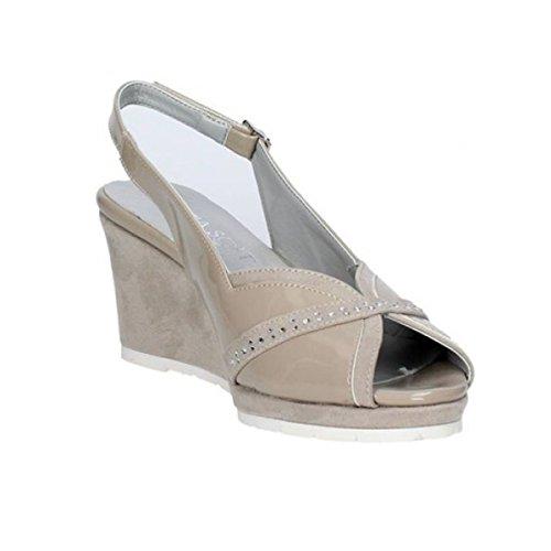 Cinzia Scarpe Camoscio 511044 E Donna Spuntato Sandalo Pelle Soft UUrnHxT