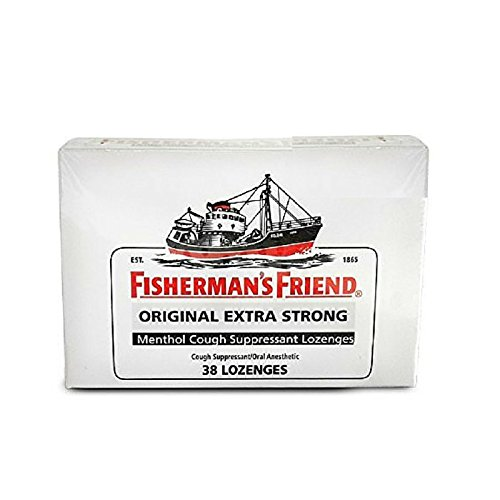 Fisherman's Friend Menthol Cough Suppressant Lozenges 38 Lozenges Lozenges Menthol Eucalyptus