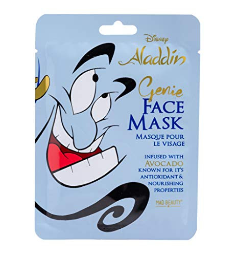 Disney Aladdin Genie Sheet Face Mask from Mad -