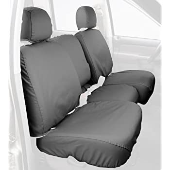 Covercraft SS3351PCGYCustom Fit Front Bench SeatSaver Seat Covers