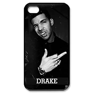Custom High Quality WUCHAOGUI Phone case Singer Drake Protective Case For Iphone 4 4S case cover - Case-1