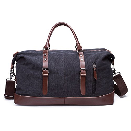 Trim Canvas Tote - 1