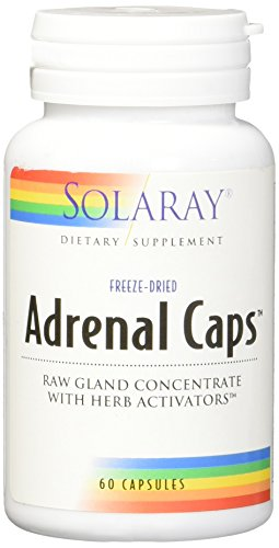 - Solaray Adrenal Supplement Capsules, 170 mg, 60 Count