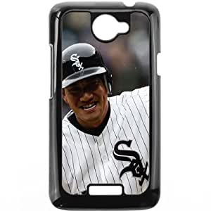 MLB&HTC One X Black Chicago White Sox Gift Holiday Christmas Gifts cell phone cases clear phone cases protectivefashion cell phone cases HABC605584435