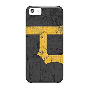 KerryParsons Iphone 5c Shock-Absorbing Hard Phone Covers Provide Private Custom Realistic Pittsburgh Pirates Pictures [aZJ6999BTIa]
