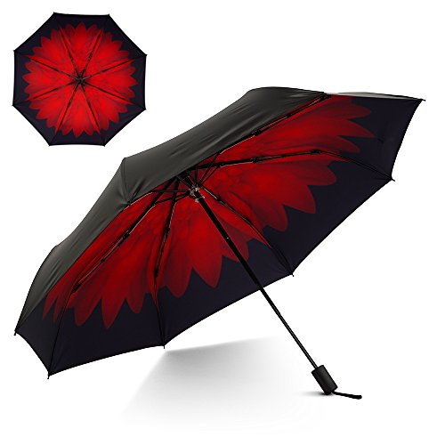 Flexzion Small Travel Rain Umbrella