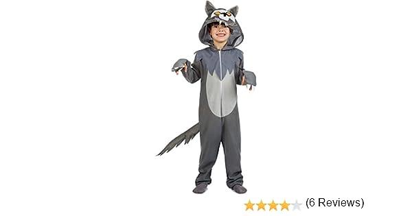 Disfraz de Lobo Infantil (10-12 años): Amazon.es: Juguetes y juegos