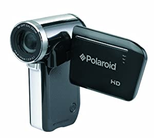 polaroid dvg 1080p high definition digital video camera with 2 5 inch lcd display. Black Bedroom Furniture Sets. Home Design Ideas