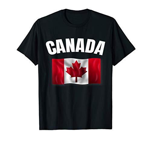 Canadian Flag Shirt Men & Women Maple Leaf - Shorts Toronto Maple Leafs Womens