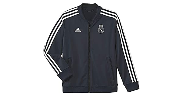adidas Real Madrid Polyester Jacket Chaqueta, Niños: Amazon ...