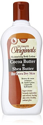 Africa's Best Cocoa Butter and Shea Body Lotion, 12 Ounce