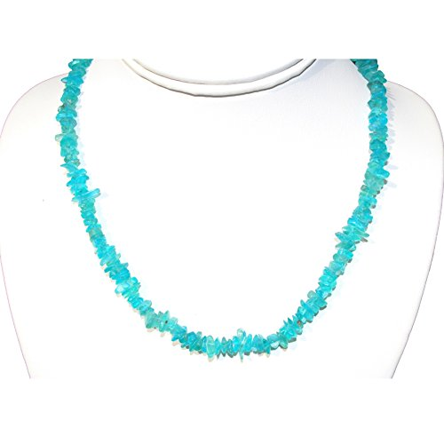 CHARGED Blue Apatite Necklace 18