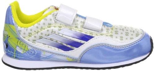 Adidas Disney Cars 2 I Scarpe da bambino in esecuzione , Bianco-gioia Blu-satellitare , Q23254