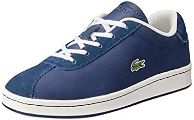 Lacoste Masters 119 1 Fashion Shoes, NVY/Off WHT, 1 US