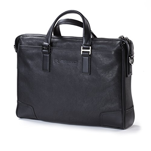 Boeing Centennial Tumi Irving Slim Leather Briefcase