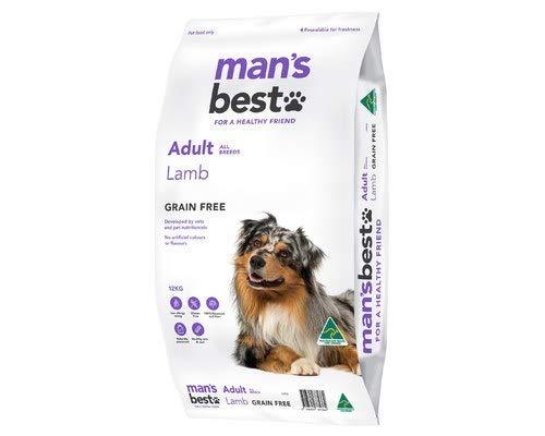 MANS BEST Adult Dog Lamb 12KG (MB005)