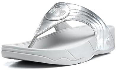 3f2f5623196b FitFlop WalkStar III - Silver (UK Size 5)  Amazon.co.uk  Shoes   Bags