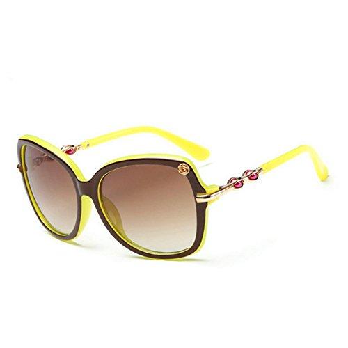 HaiBote Gothic Punk Retro-Reflective Glasses Mens Colorful Retro Lady Sunglasses - Costa Bass Pro Sunglasses