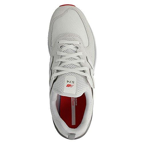 Pour Femme Blanc Baskets Balance New 6qg7RXUa1