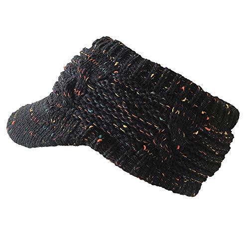 8ea1afc357cb54 Mnyycxen Winter Unisex Knit Ski Crochet Slouch Hat Cap Beanie Hip-Hop Solid  Hat (