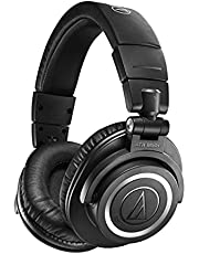 Audio-Technica ATH-M50xBT2 Wireless Over-Ear Headphones, Black