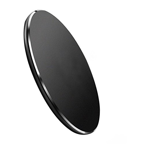 SUOHONG Cell Phone Wireless Charger,Fast Charger Charging Pad for iPhone 8/8 Plus,Samsung Galaxy S8/S8 Plus,S7/S7 Edge,S6/S6 Edge,Note 8/Note 5 Black (BLACK) by SUOHONG