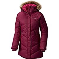 Columbia Womens Lay D Down Jacket (Plus Size, Dark Raspberry)