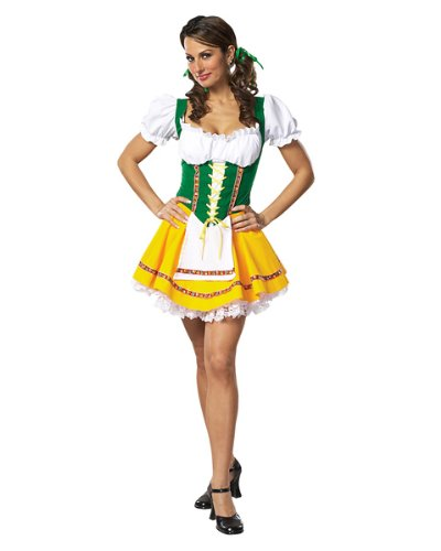 Swiss Miss Costume - Large - Dress Size 14-16 -