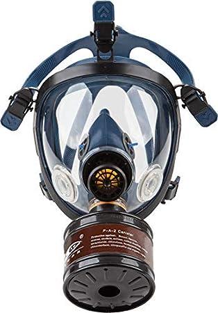 Induschoice Organic Vapor Full Face Respirator Mask Gas Mask Paint