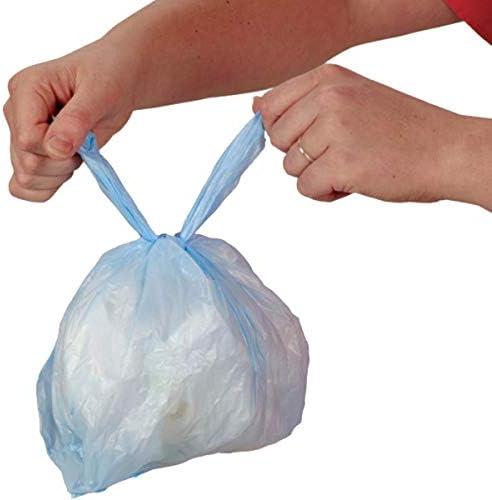Sassy Disposable Diaper Sacks Blue 400Count