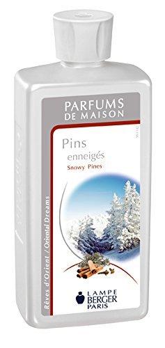 (Lampe Berger Snowy Pines 500ml Festive Fragrance by LAMPE BERGER)