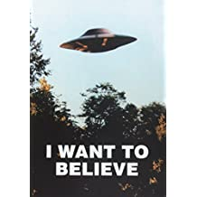 The X Files I Want to Believe Journal