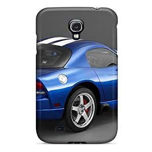 Perfect Dodge Viper Srt 10 Blue Cases Covers Skin For Galaxy S4 Phone Cases