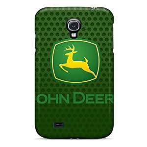 SherriFakhry Samsung Galaxy S4 Shock Absorbent Hard Cell-phone Cases Allow Personal Design Attractive John Deere Logo Skin [Cor20143YwGP]