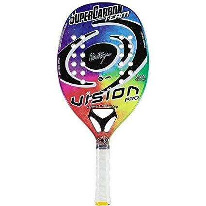 Vision pro Raqueta Tenis Playa Racket Súper Carbono Team 19 ...