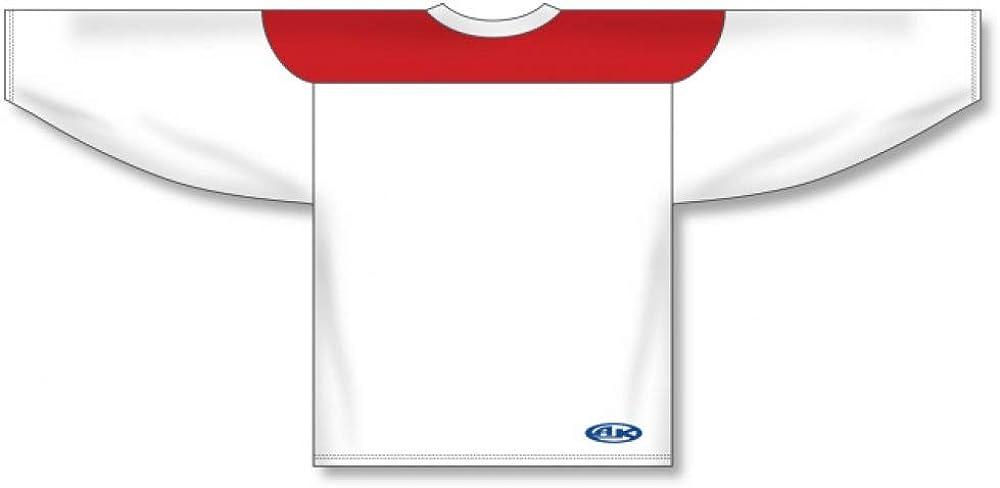 all white hockey jersey