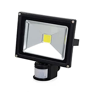Sinuote 20W LED Flood Light With PIR Sensor Movement Detector Floodlight Spotlight (1 PCS)