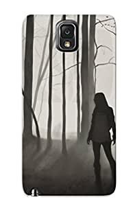 Eatcooment Durable Lost Girl In The Dark Forest Back Case/ Cover For Galaxy Note 3 For Christmas' Gifts