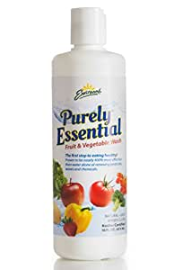 Environne Purely Essential Fruit and Vegetable Wash, None, 16 Fl Oz (Pack of 6)