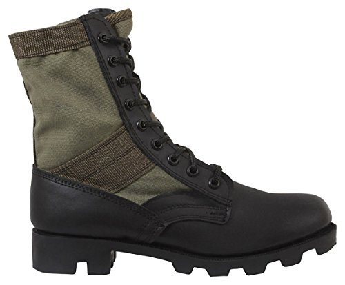 Rothco 8'' GI Type Jungle Boot, Olive Drab, Regular 6 - Gi Style Jungle