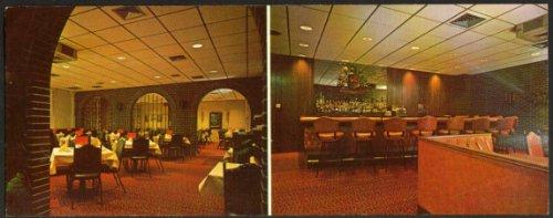 Lombardo's Restaurant Lancaster PA jumbo postcard 1960s