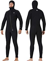 Wetsuit Women Men Youth 5Mm Neoprene Wet Suits for Women in Cold Water Full Body Dive Suit for Diving Snorkeli