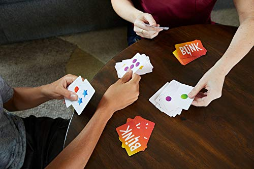 Reinhard Staupe's BLINK Family Card Game, Travel-Friendly, with 60 Cards and Instructions, Makes a Great Gift for 7 Year Olds and Up