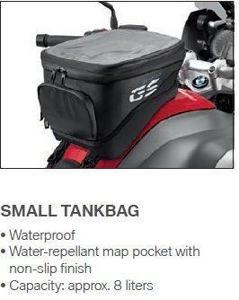 BMW Liquid Cooled R1200GS Small Tank Bag
