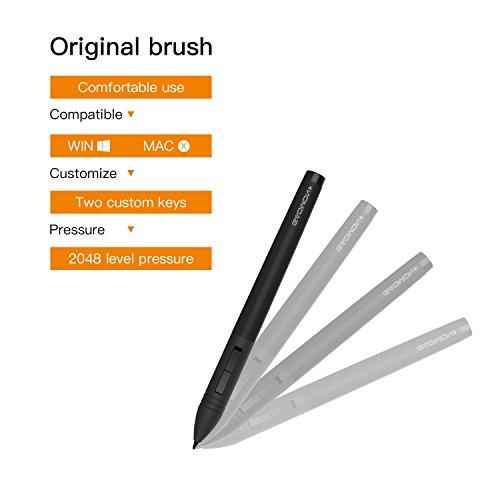 GAOMON ArtPaint AP20 Wireless Digital Art Stylus Environmentally-friendly Rechargeable Pen for GAOMON S56K & M106K Tablet by GAOMON (Image #5)
