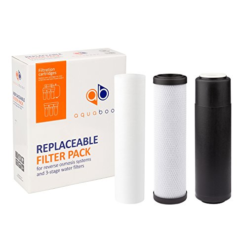 1 Year Aquaboon Replacement Water Filters Set For Water Filtration Systems by Aquaboon