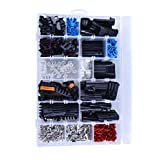 168 pcs Delphi Weather Pack Starter Kit Replacement for 2-Way / 3-Way / 5-Way / 6-Way Connector WeatherPack Aptiv